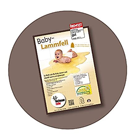 Heitmann Felle 911 Baby Lammfell Gold Baby