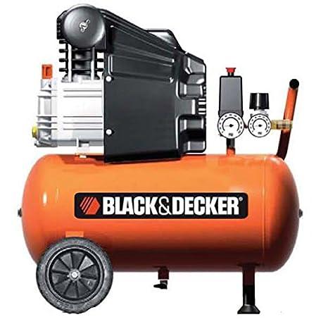Black+Decker compresor con 24 L depósito, 1798: Amazon.es: Bricolaje y herramientas