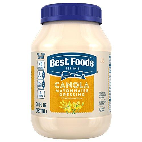 Best Foods Mayonnaise Dressing, Canola Cholesterol Free, 30 oz