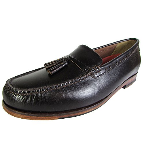 Cole Haan Mens Pinch Grand Casual Tassel Loafer Shoe, Chestnut, US 9.5