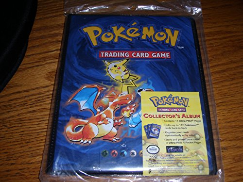 Pokemon Trading Card Pikachu Charizard 4 Pocket Album Storge by Pokémon