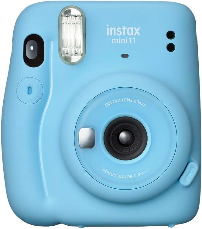 كاميرا فوجي فيلم إنستاكس ميني 11 الفورية – أزرق