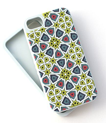 - Tech Candy iPhone 6 iPhone 7 iPhone 8 Kaleidoscopic Phone Case Soft Silicone 3D Texture Protective Durable Pretty Designer Girls Teenagers Womens Shock Absorbing Beautiful Light Mint Teal Tile Pattern