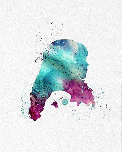 emma-watson-watercolor-art-print-5x7-8x10-11x14-archival-ink-linen-weave-paper