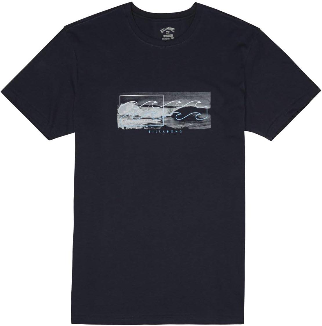 BILLABONG Inverse T - Camiseta de Manga Corta y Foto Frontal Hombre