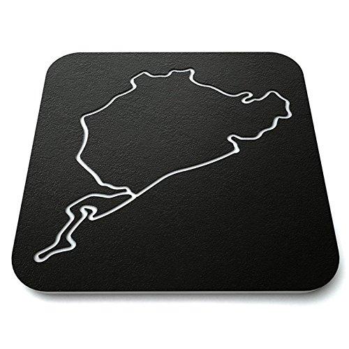 Fan Favorite Race Track Coasters (Set of 4)