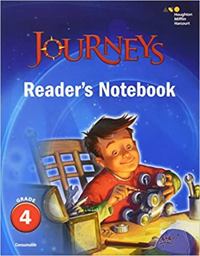 Journeys readers notebook grade 4 houghton mifflin harcourt journeys readers notebook grade 4 1st edition by houghton mifflin harcourt fandeluxe Image collections