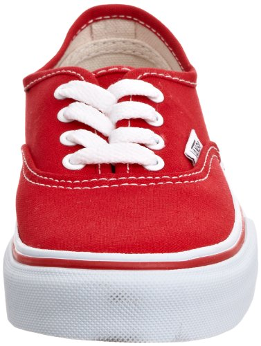 Authentic Rouge Mixte Mode Vans Baskets red Bébé T aZTw68nq6