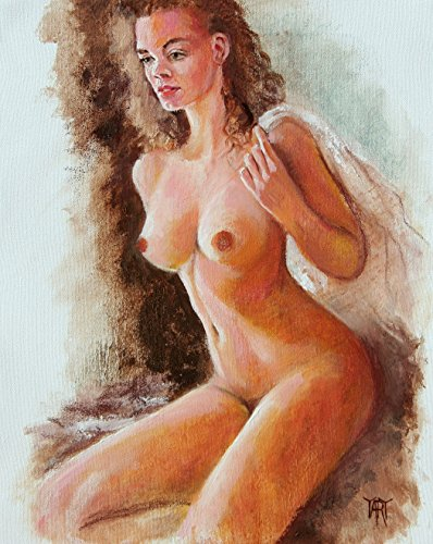 Inspired Morning, Female Figure Nude By Internationally Renown Artist Yary Dluhos ()