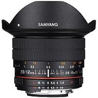 Samyang 12mm F2.8 Full Frame Fisheye, Manual Focus Lens for Nikon F Mount with AE Chip