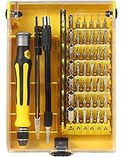 NEXGADGET 46 en 1 Destornilladores Precisión Herramientas Profesional para Iphone, Smartphones, Tablets, Ordenadores Portátiles, Cámara y Reloj, Kit de Herramientas de Reparación de la Electrónica