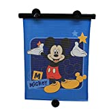Disney Baby Mickey Pantalla Solar Retractil, azul