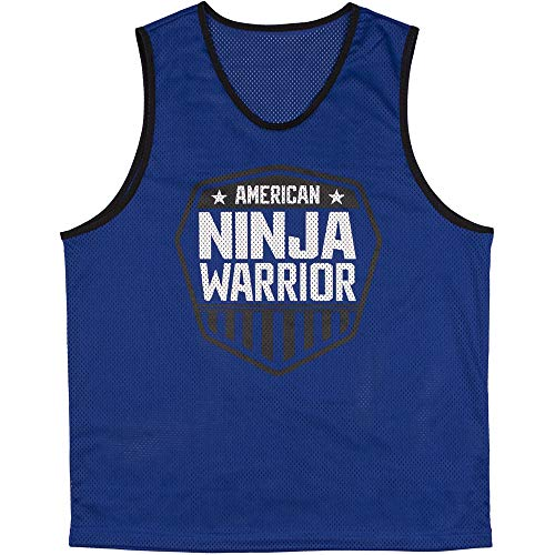 American Ninja Warrior Pullover Jerseys - Blue and Red - Perfect for Parties ()