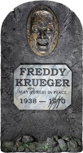 (Rubies Nightmare on Elm Street Freddy Krueger Headstone Party)