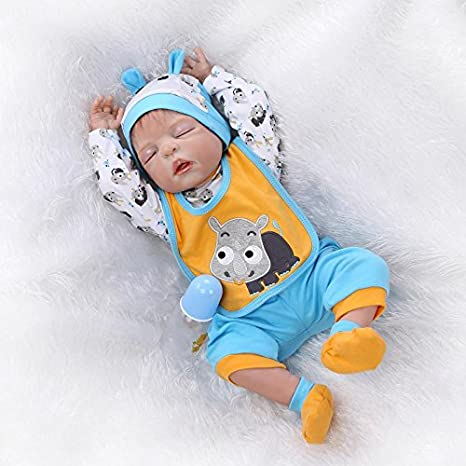 Amazon.com: Pinky 23 Inch 57cm Realistic Looking Reborn Doll Baby ...