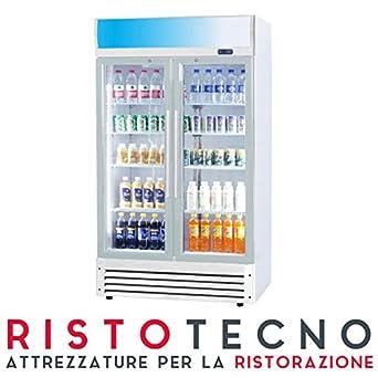 Nevera vitrina para bebidas,capacidad de620 l,92,5 x 70 x 194 cm ...