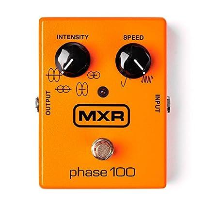 Amazon.com: PEDALES EFECTO MXR - Dunlop (M107) Phase 100 (Tambien para Teclados y Voz): Musical Instruments