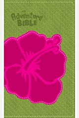NIV Adventure Bible, Compact, Italian Duo-Tone, Flower Imitation Leather