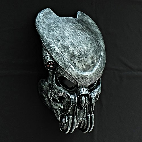 1:1 Full Scale Prop Replica AVP Predator Helmet Halloween Costume Wall Mask Home Decor Celtic PD25 (Prop Mask Predator)