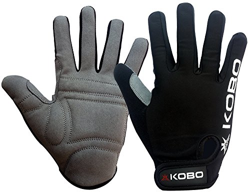 Kobo CTG-04 Lycra-Spandex Gym Gloves, Medium (Black)