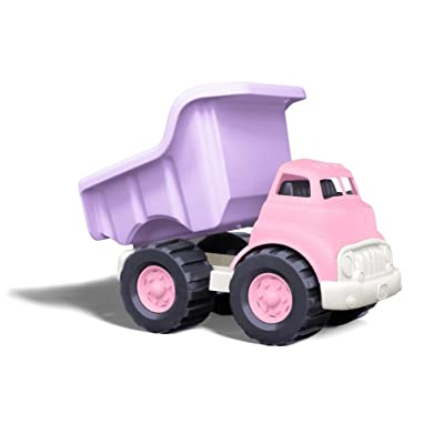 Green Toys Dump Truck in Pink Color - BPA Free, Phthalates Free Play Toys for Improving Gross Motor, Fine Motor Skills. Play Vehicles: GreenToys: Toys & Games