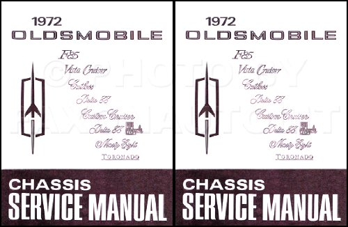(1972 Oldsmobile Chassis Service Manual (F85, Vista Cruiser, Cutlass, Delta 88, Custom Cruiser, Delta 88 Royale, Ninety Eight, Toronado))