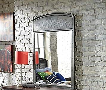 Hillsdale Furniture 1265-721 Urban Quarters Mirror, Black Steel