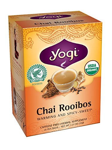 Yogi Chai Rooibos Tea, 16 sachets de thé (pack de 6)