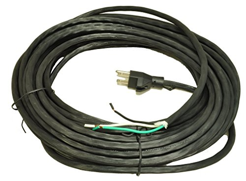 50 Foot 18/3  Replacement Vacuum Cleaner Cord- Black Color