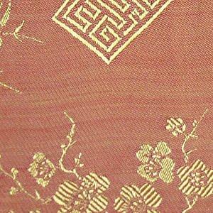 Wristlet - Silk Jacquard (Golden Peach)
