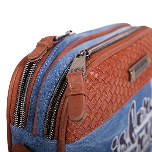 LOIS - 10683 BOLSO BANDOLERA Azul vaquero
