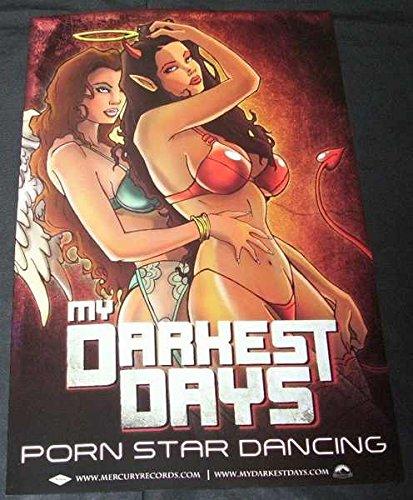 Amazon Com My Darkest Days Two Sided Poster Rare New Matt Walst Sal Costa Brendan Mcmillan Doug Oliver Chad Kroeger Move Your Body Porn