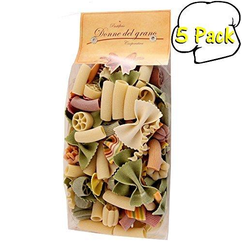 italian-donne-del-grano-lefovers-monnezza-verdure-colored-pasta-178-ounces-5-per-case-by-donne-del-g