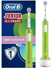 Oral-B - Pro Expert Junior Elektrisk Tandborste, för Barn från 6 År, Grön - 1 Bit