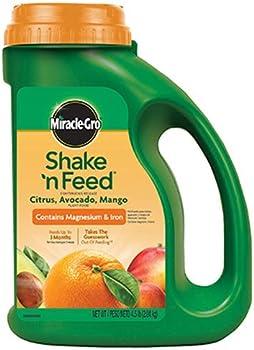 Miracle-Gro Shake 'N Feed Citrus, Avocado, Mango Fertilizer For Fruit Trees