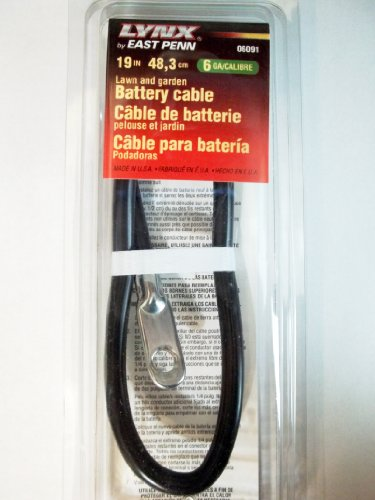 Lynx 19 Inch Lawn And Garden Battery Cable ()