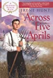 Front cover for the book Across Five Aprils by Irene Hunt