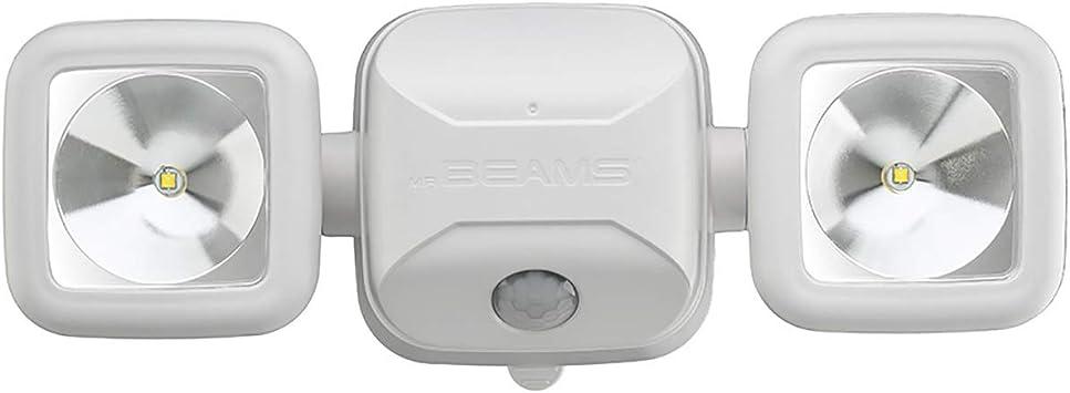 BEAMS Black Security Spotlight Motion Sensing Battery LED Adjustable NEW!! 3 MR