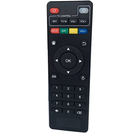 Foxtek Mando a distancia para MX MXQ MXQ Pro M8 N M8 M8S MX3 Android TV Box XBMC: Amazon.es: Electrónica