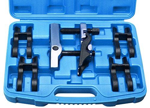7-tlg. Kugelgelenk Ausdrü cker Kugelkopf Abzieher 5 Gabeln 20-22-24-27-30 mm Otger bLensker