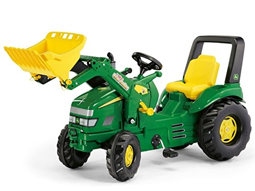 rolly toys X-Trac John Deere 046638 Toy Tractor with rollyTrac Loader