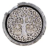 Old River Outdoors Decorative Tree of Life Coaster