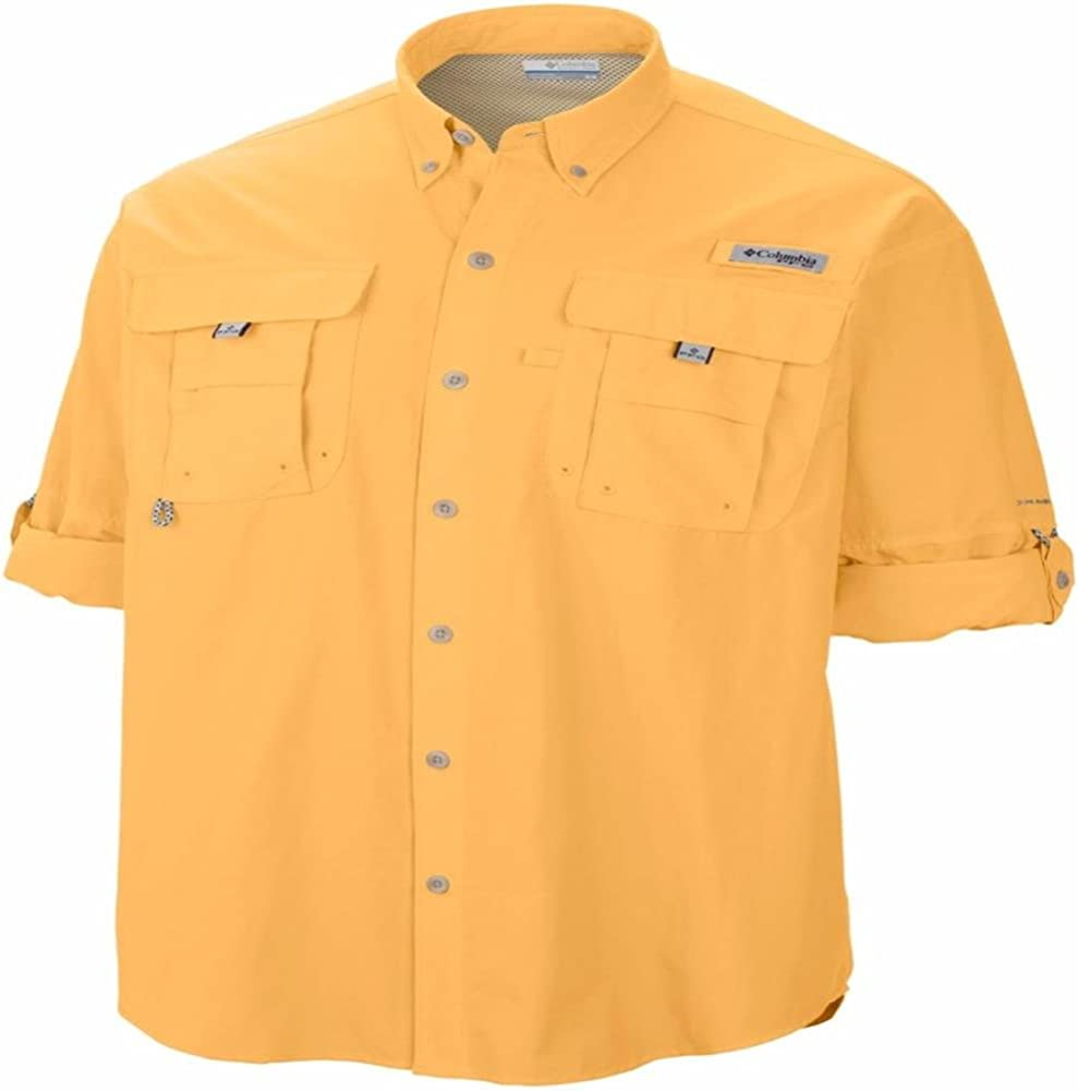 "New Mens Columbia PFG /""Bonehead/"" Vented Long Sleeve Fishing Shirt"