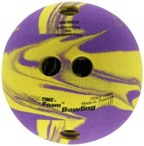 Sportime UltraFoam Weighted Bowling Ball by School Specialty