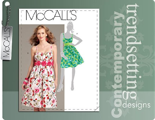 MCCALLS M5876 MISSES DRESS ~ SIZE 6-14 ~ SEWING PATTERN by McCall's B00CL1AWWC