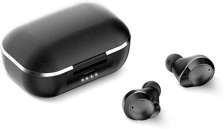 Auriculares inalámbricos Bluetooth 5.0 Carga inalámbrica con Caja de Carga Conectado de Forma automática Mini In-Ear Auriculares Carga Rapida: Amazon.es: Hogar
