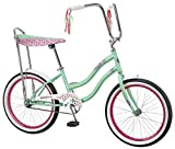 Schwinn Girls Mist Polo Bike, 20-Inch, Mint