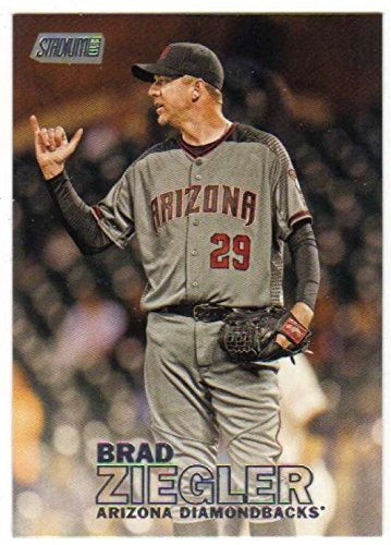 2016 Topps Stadium Club Baseball #183 Brad Ziegler Arizona Diamondbacks