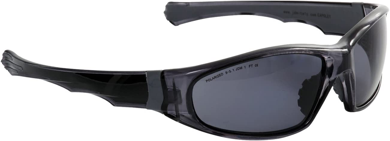 Eagle EAPOL - Gafas de protección laboral con lentes polarizadas de policarbonato, color gris