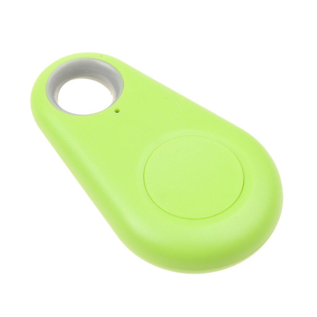 Dolity Localizzatore Intelligente Bluetooth GPS Antifurto Tracker Indicatore Di Posizionamento Chiave Tag Verde